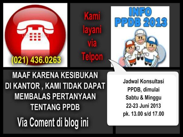 KONSULTASI PPDB SMP/SMA/SMK DKI JAKARTA